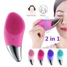<b>Original Electric</b> Facial <b>Cleanser</b> Deep <b>Cleaning</b> Ultrasonic Silicone ...