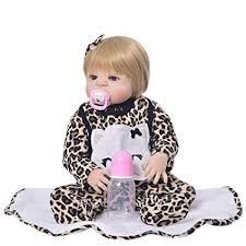 npkcollection 52cm full body silicone reborn dolls baby alive for children playmate gifts 21 inch real doll