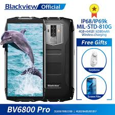 <b>Blackview BV6800 Pro</b> Android 8.0 Outdoor Mobile Phone 5.7 ...