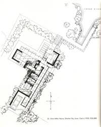 Solaripedia   Green Architecture  amp  Building   Projects in Green    Usonian Miller House Plan by FLW