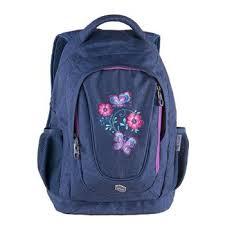 Школьный <b>рюкзак Pulse Music Jeans</b> Flower 121410