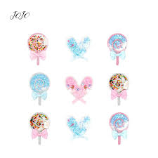<b>JOJO BOWS 1pc Quicksand</b> Popsicle Patches For Craft Planar ...