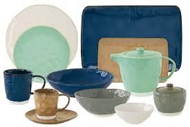 <b>Тарелка обеденная Interiors</b>, синяя <b>26</b> см от магазина MotherHome