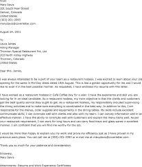 cover letters for restaurant jobs  seangarrette cocover letters for restaurant jobs
