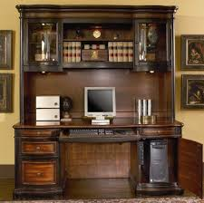 get quotations home office computer desk with hutch in two tone warm brown finish besi office computer desk