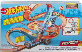 Игровой набор <b>HOT WHEELS</b> Падение с башни, гоночная <b>машина</b>