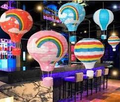 <b>DIY</b> Mid autumn day Hot Air Balloon <b>paper</b> Lanterns wedding ...