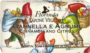 <b>Мыло</b> Florinda <b>Merry Christmas</b> Cannella e Agrumi 100г — купить ...