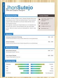 top  creative resume templates for web designersprofessional one page resume