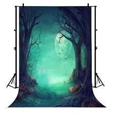 GCKG 7x5ft <b>Halloween</b> Pumpkin Horror Nights Moon <b>Mysterious</b> ...