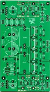 A-<b>transistor</b> regulated power supply board tube pre-stage universal ...