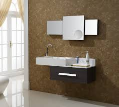 l popular design of sooty and white sink ikea bathroom vanity wall mounted on brown painting walls and different size wall mirror frameless 1120x1007 bathroom furniture popular design