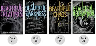 Beautiful Creatures, Beautiful Darkness, Beautiful Chaos, Beautiful Redemption - Kami Garcia, Margaret Stohl