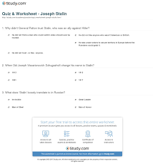 quiz worksheet joseph stalin com print joseph stalin biography facts timeline worksheet