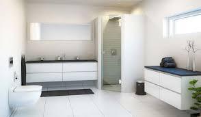 white bathroom floor:  plain design white bathroom floor tile beauteous