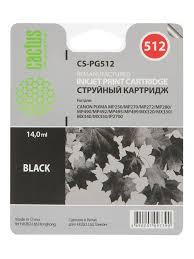 Совместимый струйный <b>картридж</b> CS-<b>PG512</b> (<b>PG</b>-<b>512</b>) Black ...