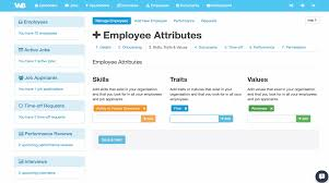 workbase hr human resources software manage employee details