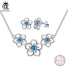 <b>ORSA JEWELS</b> 100% Real <b>925 Sterling</b> Silver <b>Jewelry</b> Sets ...