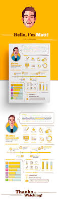 best images about infographic visual resumes my resumeacute on behance more