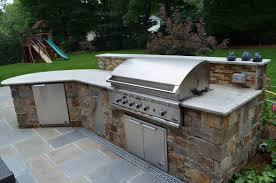 Countertop For Outdoor Kitchen Outdoor Kitchen Bbq Design Installation Bergen County Nj