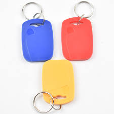 <b>10Pcs</b>/lot <b>13.5MHZ UID Changeable</b> MF S50 1K IC Keys Keyfobs ...