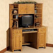 small corner wood home office best corner desk with hutch for home office office furniture ideas home office furniture cherry finished