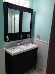 bathroom ikea mirror cabinet vanity