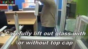 removing glass from emerald series office cubicles _ workstations by skutchi designs inc youtube 360p build office video