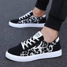 2019 <b>spring</b> and summer Korean <b>men's shoes</b> canvas <b>shoes wild</b> ...