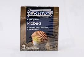 <b>Презерватив Contex Ribbed ребристые</b> N3 - цена от 165 руб ...
