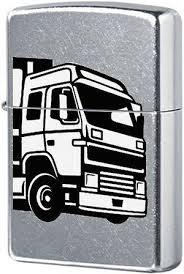 <b>Зажигалка ZIPPO 207 European</b> Truck с покрытием Street Chrome ...