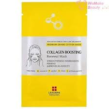 Leaders Insolution <b>Collagen Boosting Renewal Mask</b> 1 Sheet New ...