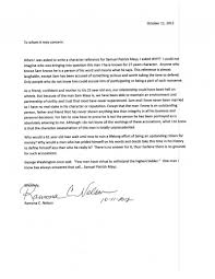character reference letter s defense fund join sam s list