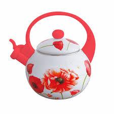 <b>Чайник</b> со свистком <b>&quot</b>;Весенний цветок&quot