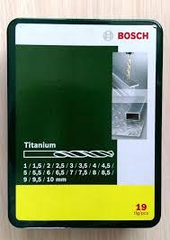 Обзор от покупателя на Набор <b>сверл по металлу Bosch</b> ...
