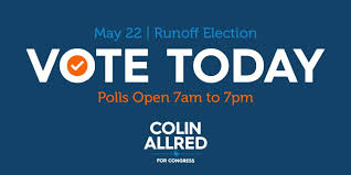 """Colin Allred on Twitter: """"Today is Runoff Election Day! Make your ..."""