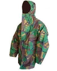 <b>PVC Camo Waterproof</b> Jacket