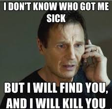 Sick Memes | Funny Photos of What It's Like to Be Sick via Relatably.com