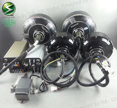 72V 90KPH Electric Car Conversion Kits 2X3000W Hub Motor Kits  I