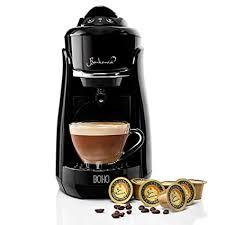 Buy Bonhomia Boho <b>Capsule Coffee Brewer</b> Single Serve Espresso ...