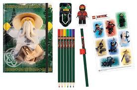 <b>Канцелярский набор LEGO</b> Ninjago <b>Movie</b> (51890), 12 пр ...