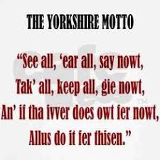 Yorkshire Films / Sayings on Pinterest | Yorkshire, Wuthering ... via Relatably.com