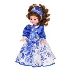 <b>Кукла</b> Василина Гжель 45 см - ЛЕН45-26 | детские игрушки с ...
