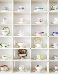 51 Display Ideas for Your Collections in 2019 | <b>Tea cup display</b>, <b>Tea</b> ...