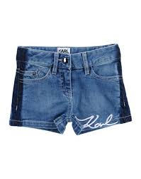 <b>Karl Lagerfeld Джинсовые Шорты</b> Для Девочек 3-8 лет на YOOX