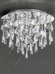 franklite cf5719 round 4 light crystal bathroom flush ceiling light astro lighting evros light crystal bathroom