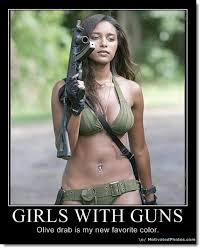 girls-with-guns-olive-drab-color « Frugal Café Blog Zone via Relatably.com