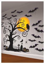 halloween gallery wall decor hallowen walljpg  halloween home decor centerpieces and table decorations halloween wall decorations halloween wall decorations
