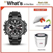SMAELBand Digital <b>Army</b> Watch <b>Men</b> LED Sport Watches ...
