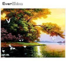 <b>EverShine</b> Diamond Embroidery Landscape <b>Diamond Mosaic</b> Kit ...